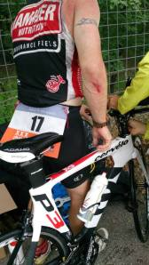 Bike crash
